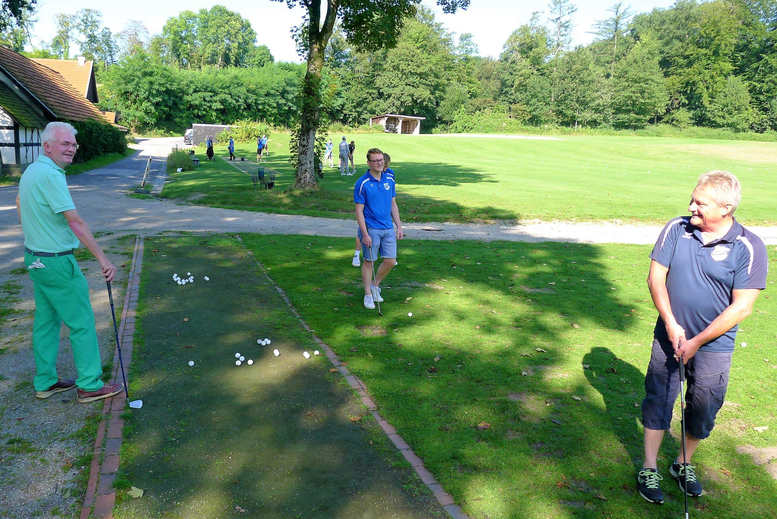 Golftraining Christoph