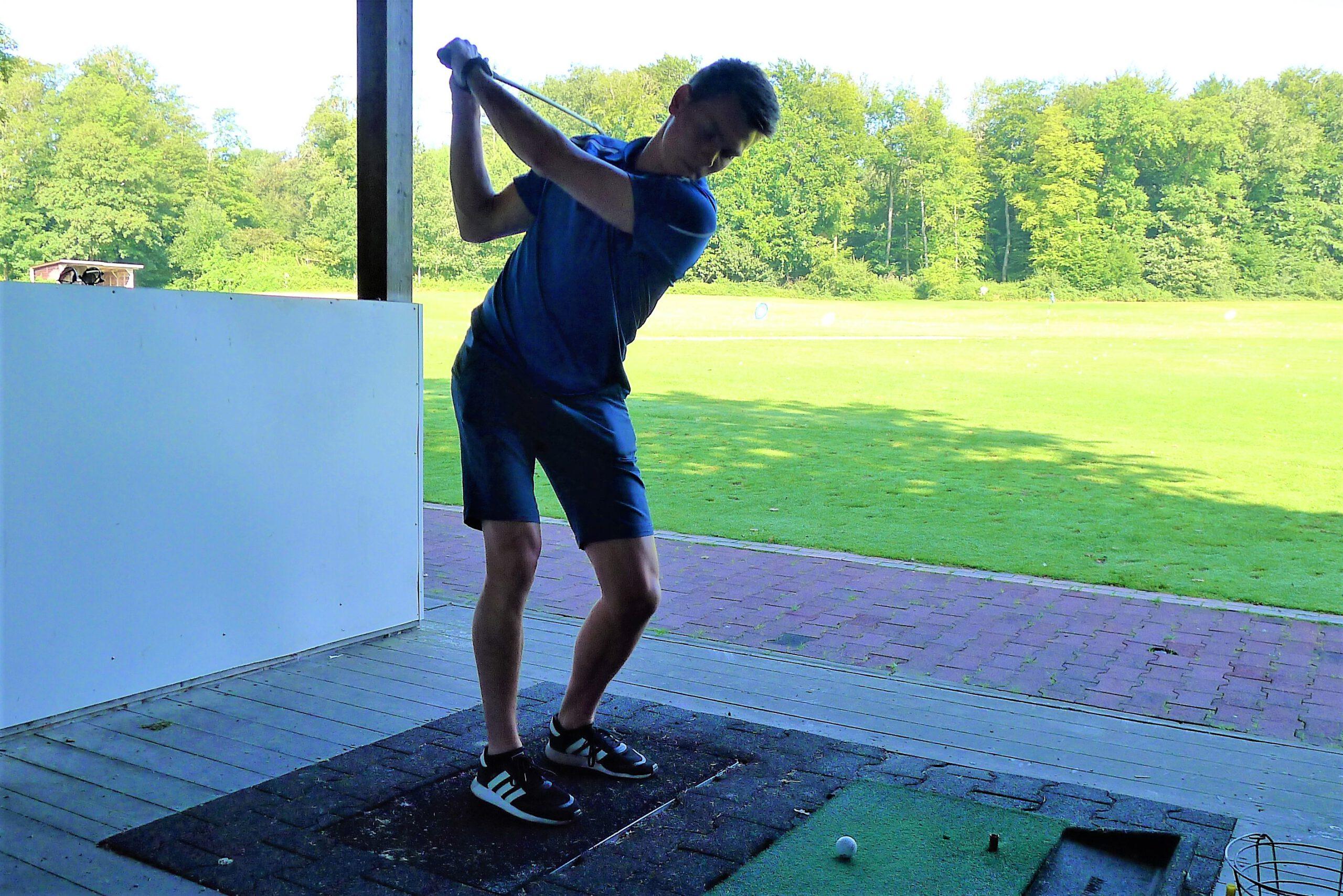 Golftraining Marc2
